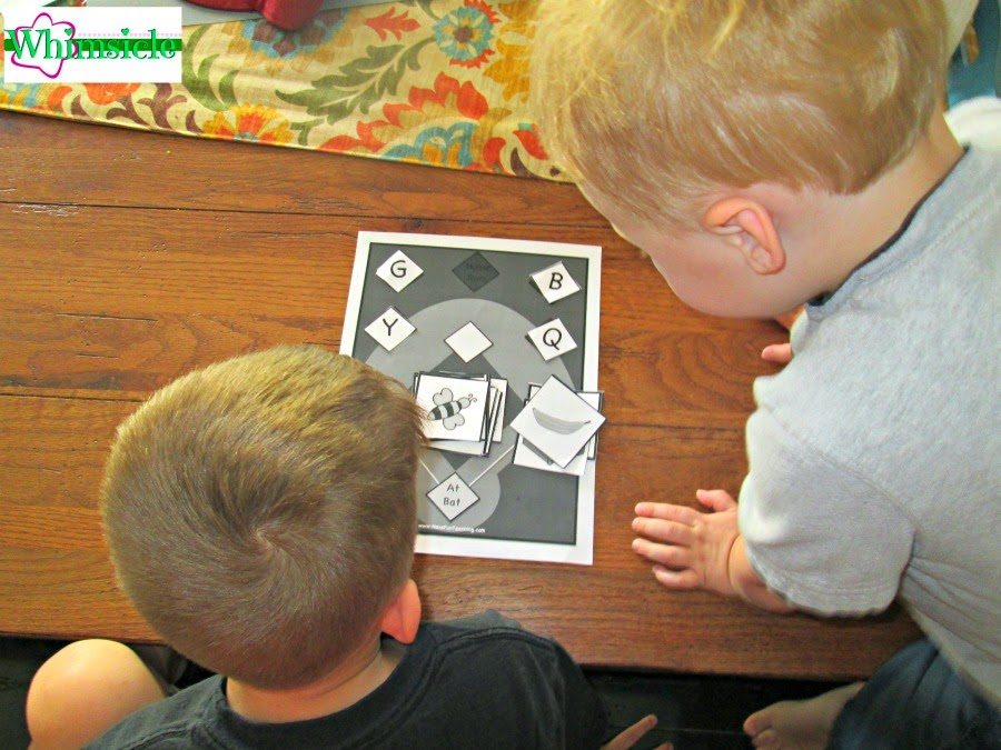 Easy activity to help your child with initial sounds plus other activities to help close the gap.