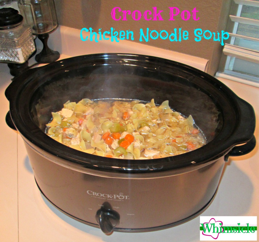 chicken noodle soup crock pot chickensoup1 no guilt 29885
