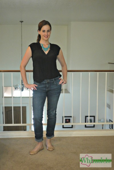 jeans-black-blouse