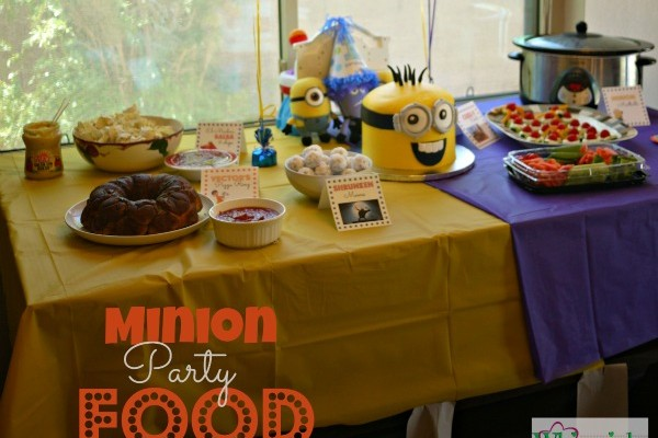 Minion Party Food