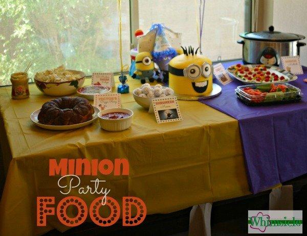 Minion Party Food | Healthy Minion Food
