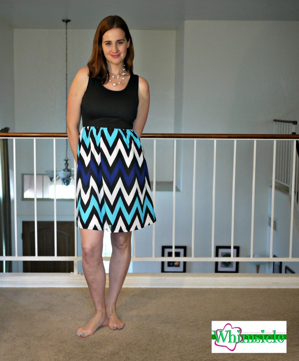 Chevron-dress