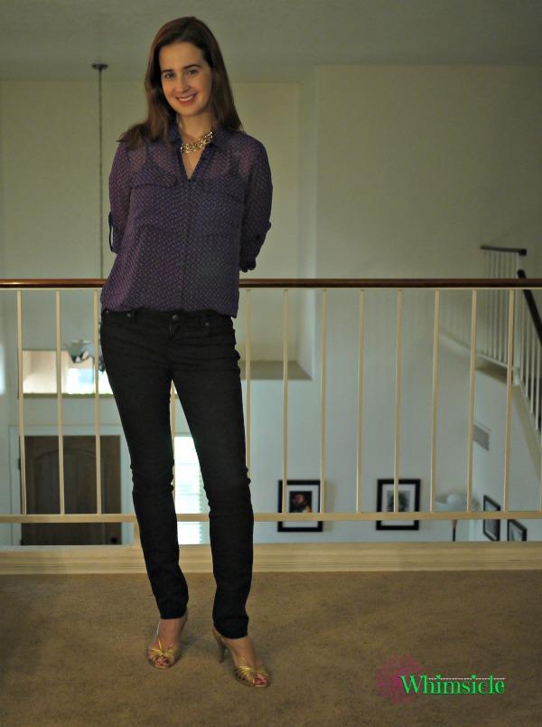 Blouse-pants-dressy