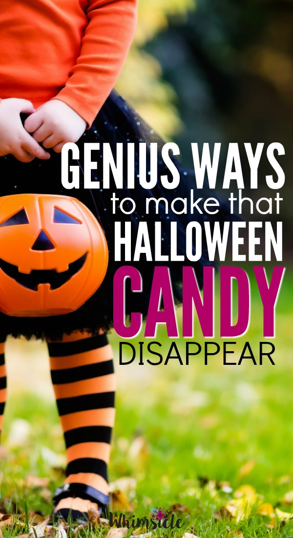 Stuck on what to do with all that leftover Halloween candy? This post has some genius ways to get your kids to part with their candy willingly.