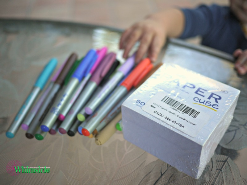 note-cube-markers