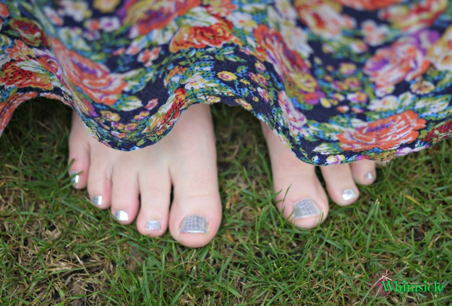 Jamberry-pedicure