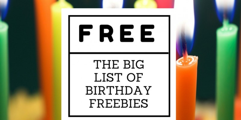 Birthday freebies 2018 albuquerque
