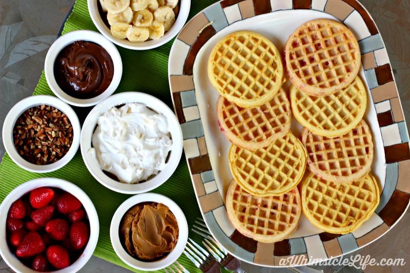 Eggo-Waffle-bar-bananas