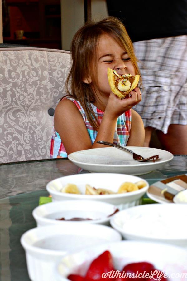 Girl-eggo-waffle-creation