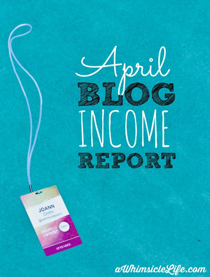 April-Blog-Income-Report