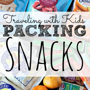 Kids and hunger are always a bad idea when you are traveling. This post lists healthy snacks to pack that will not spoil as well as other helpful traveling tips to keep your young ones happy.