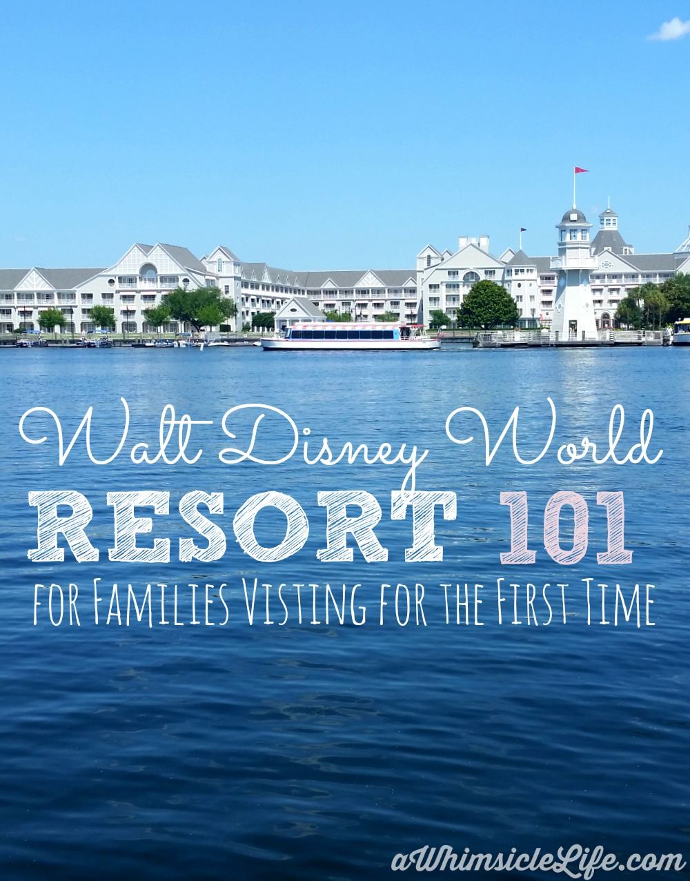 Visiting Walt Disney World for the first time is both exciting and a little overwhelming. This post gives you information on magic bands, park photos, staying at a resort hotel and airport transportation. A MUST read before you plan your first Walt Disney World Vacation.