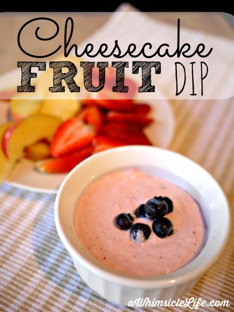 Delicious and healthy! Kids will devour all the fruit on the plate when this fruit dip is served on the side! The taste of cheesecake with less sugar.