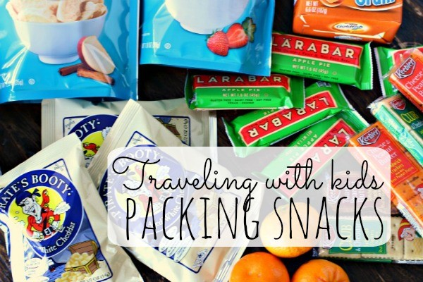 Travel Snacks for Kids