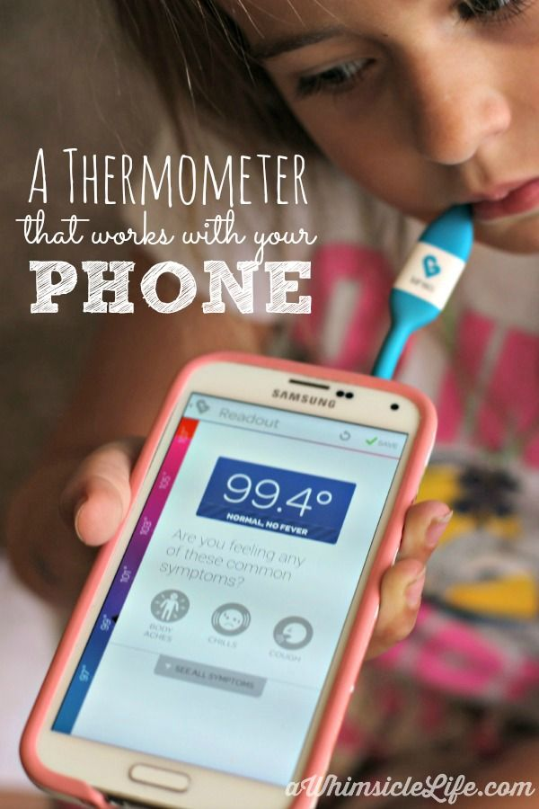 Thermometer-phone-Pin