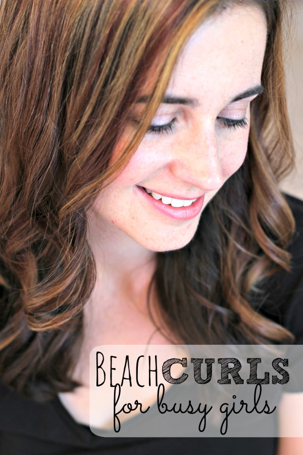 Three things that you need to do to achieve that beach curl look at home.  I ignored two of these points for so long and thought that my hair just didn't curl.  I was completely wrong.  Getting the look you want comes down to the tools, the product and technique.  Also includes a video so you can't go wrong!