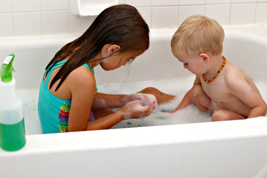 Sister And Brother In The Bathroom 28 Images Children