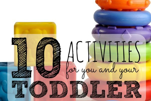 On Bed Rest? 10 Activities for You and Your Toddler
