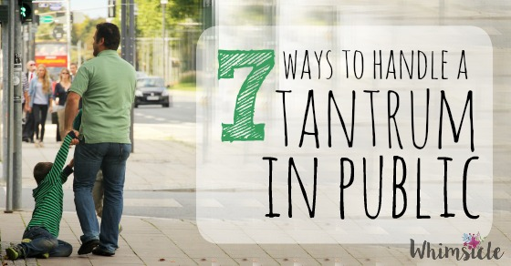 How to Handle a Toddler Tantrum in Public