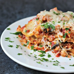 This is MOST delicious lasagna you will ever eat! I literally run home to eat the leftovers for lunch each day!