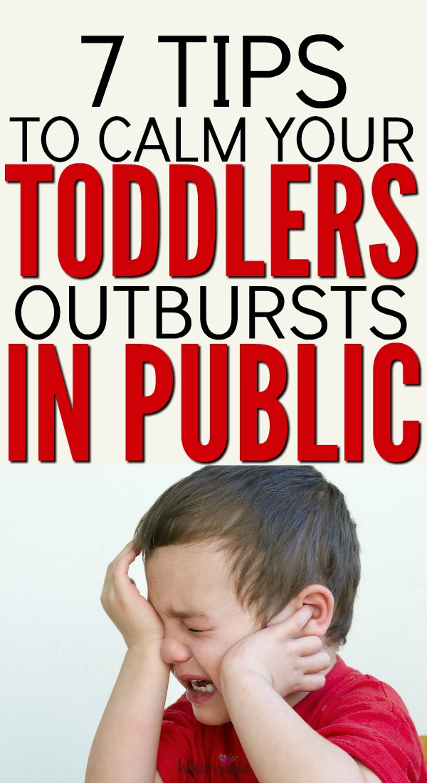 7 Ways To Handle A Toddler Tantrum In Public How To Deal