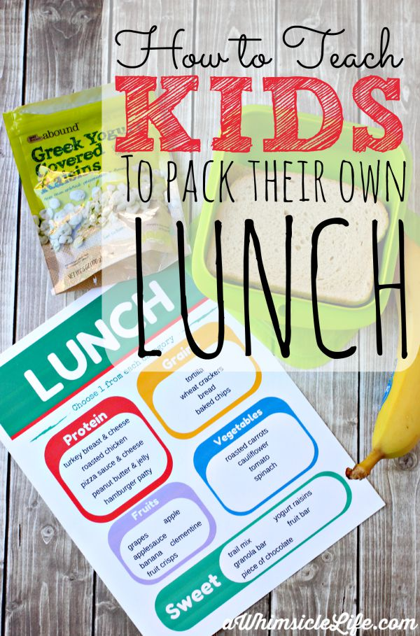 Teach-kids-pack-own-lunch