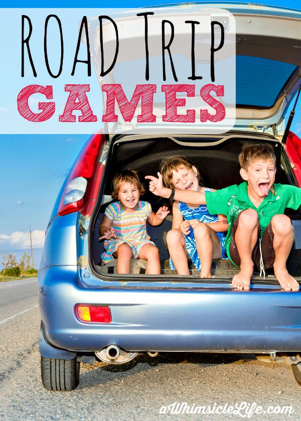 Ten road trip games with no advance planning needed!  These are guaranteed to keep kids and adults happy.  Ideas for preschoolers and up.