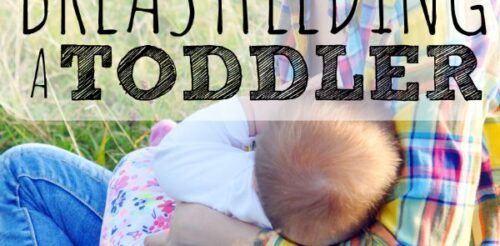 Why would you ever breastfeed a toddler? I did. Here's why I did it and how I dealt with the judgement. (Sponsored)