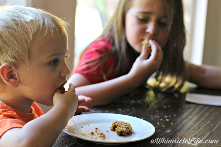 Kids-eating-granola-bars