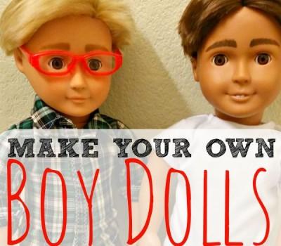 Make Your Own Boy Dolls