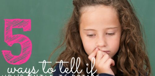 How do you know if your child is getting bullied at school? This post lists and explains five tell tale signs that will warn you when it's time to take action.