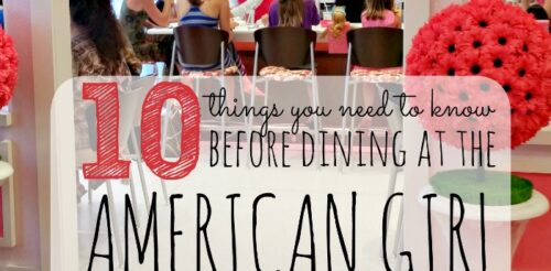 If you are thinking about dining at an American Girl restaurant, this post is a MUST read! Covers everything from when to make a reservation to food.