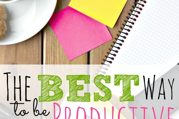 Best Way to be Productive