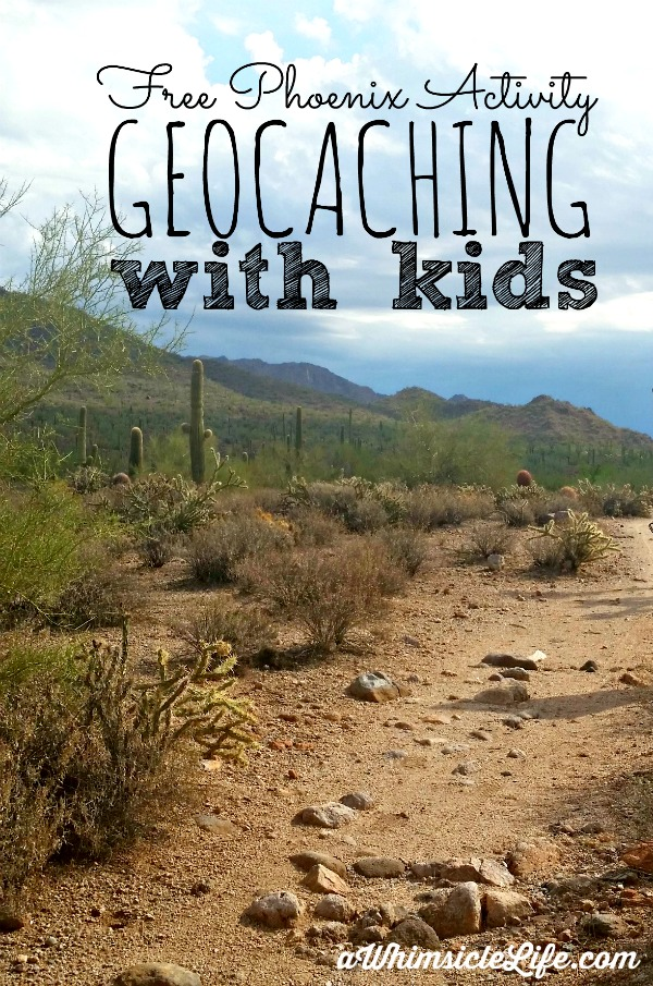 Amazing way to get kids outdoors and explore the world as a family! Geocaching is the world's largest treasure hunt and can be done anywhere - not just Phoenix! This article explains how to get started and what to do when you find your first cache.