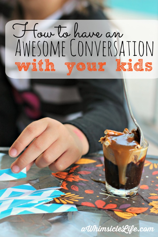 AMAZING tips for how to get your shy child to reveal more about her hopes and dreams. Also includes a recipe a peanut butter, caramel, chocolate, pretzel parfait that is the perfect sized treat.
