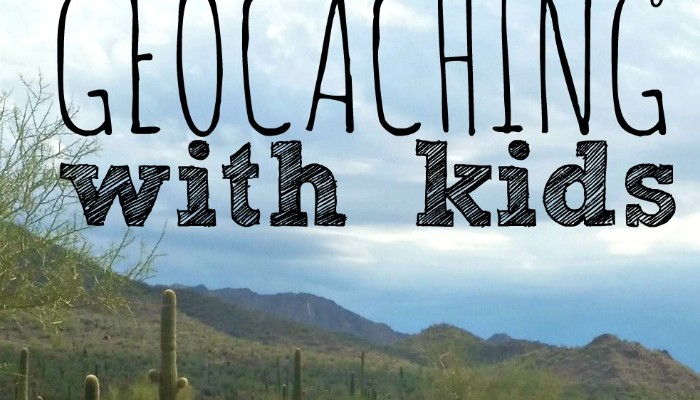 Geocaching with Kids in Phoenix