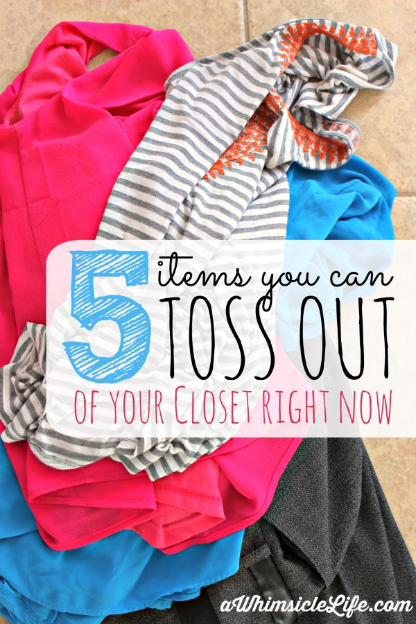 Fantastic tips to get started creating a small wardrobe. If you have been putting it off, this article will help you start the process! You can get rid of these five types of clothing immediately!
