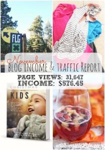 November Blog Income Report