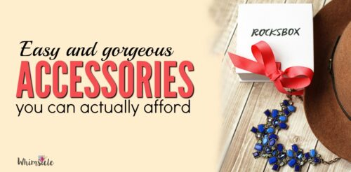 How to accessorize every outfit for cheap! These accessories you wear, keep what you like and send back whatever you don't.