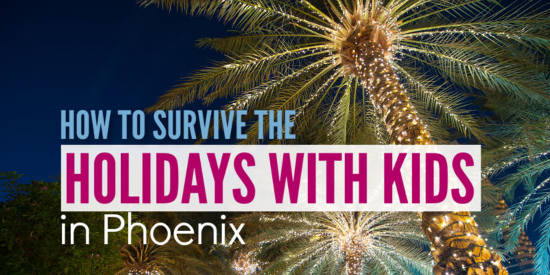 Looking for a great holiday family event in Phoenix for 2018? These affordable activities get you outside and put you in the Christmas spirit.