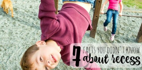 Think the time your child gets for recess is incredibly SHORT? It's not like that everywhere. This post explains 7 facts you may not know about recess in the US as well as what you can do about it!