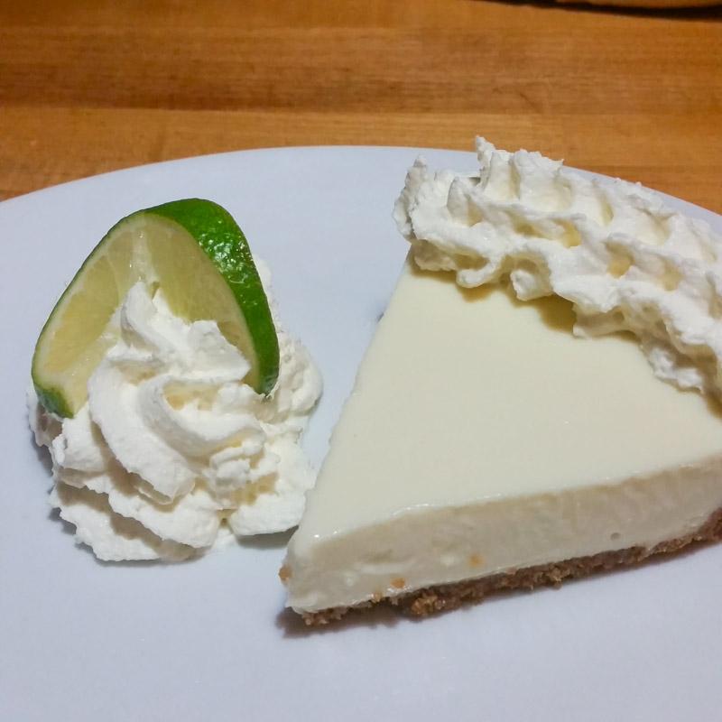 California Pizza Kitchen Key Lime Pie