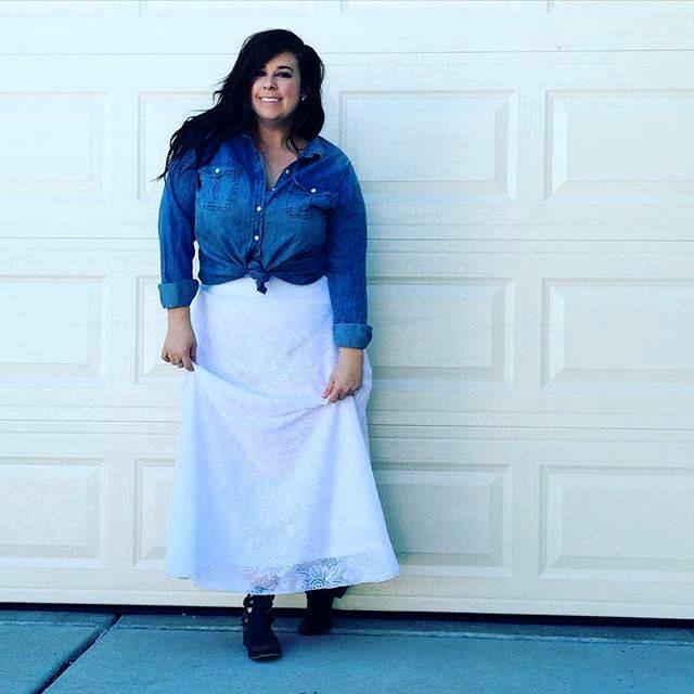 Skirt by LuLaRoe. Photo courtesy Staci Strait.