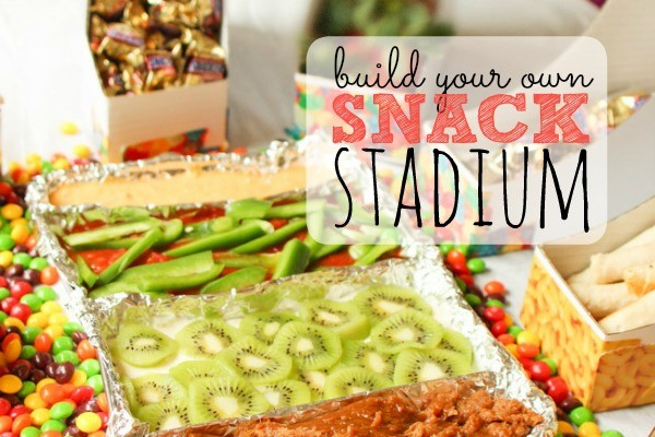 Ready for the Big Game? This is the perfect snack stadium for any party! EASY and impressive! I'm making this for my next party!