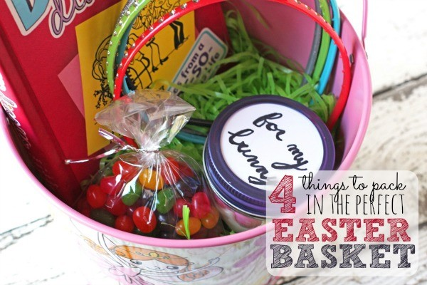4 Things To Pack in the Perfect Easter Basket