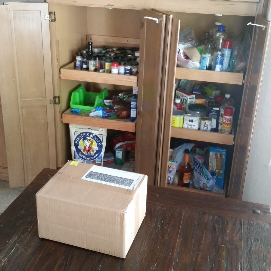 Messy Kitchen Pantry: No Guilt Mom