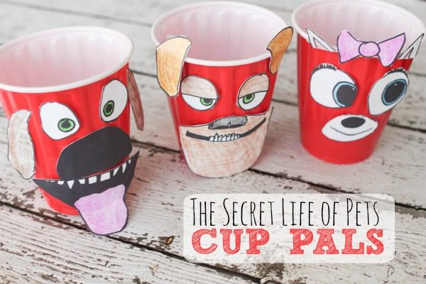 The Secret Life of Pets Craft: Cup Pals