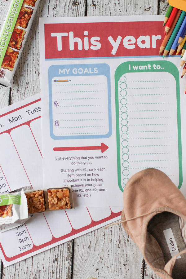 Does you kids afterschool schedule drive you insane? Here is a way to teach kids how to make choices over what to do after school, set goals and put them into action.