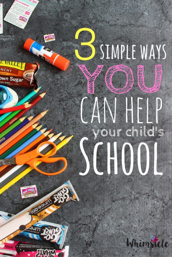 Can't volunteer during the school day? You can still help at your child's school! Parent involvement is one of those back to school essentials that many people forget.