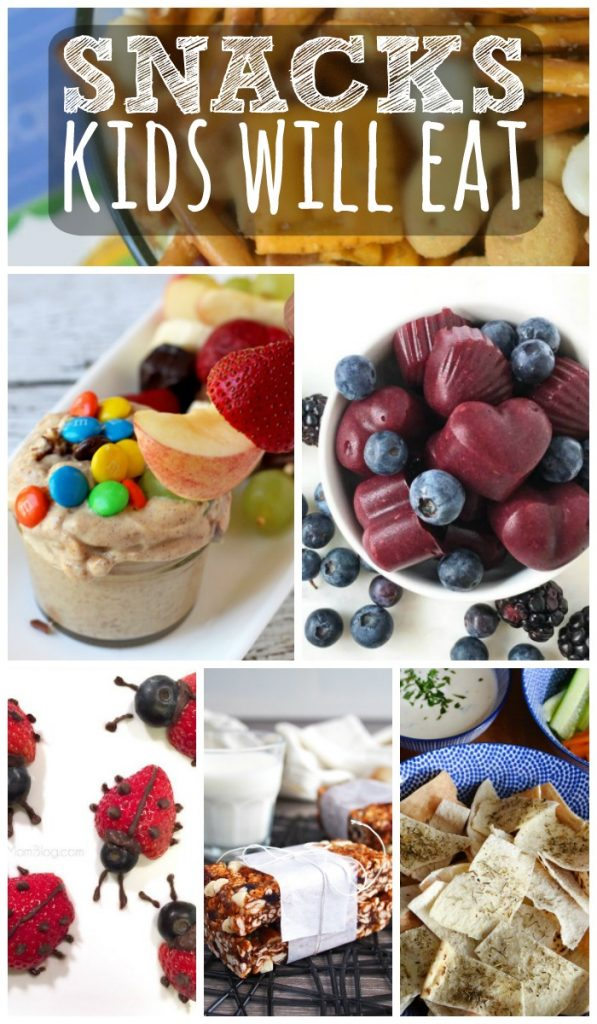 Want your kid to eat more fruits and veggies?  These snacks will do it!  A little bit of fun and still nutritious!